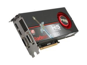 HIS Radeon HD 5850 (Cypress Pro) H585F1GDG Video Card with Eyefinity