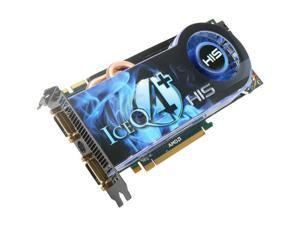 HIS H487QS1GP Radeon HD 4870 IceQ 4+ 1GB 256-bit GDDR5 PCI Express 2.0 x16 HDCP Ready CrossFireX Support Video Card