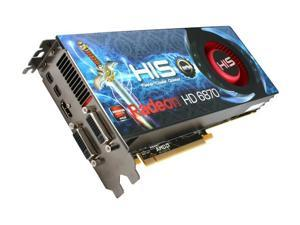 HIS Radeon HD 6870 H687FT1G2M Video Card with Eyefinity