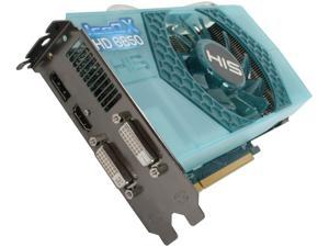 HIS IceQ X Radeon HD 6850 H685QN1GD Video Card with Eyefinity