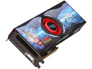 HIS HD 6000 Radeon HD 6990 DirectX 11 H699F4G4M 4GB 256-Bit GDDR5 PCI Express 2.1 x16 HDCP Ready CrossFireX Support Plug-in Card Video Card with Eyefinity