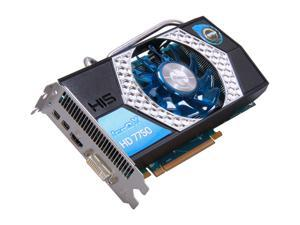 HIS Radeon HD 7750 H775QNT1G2M Video Card