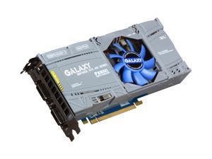 Galaxy GeForce GTX 470 (Fermi) DirectX 11 70XKH3HS3CUB 1280MB 320-Bit GDDR5 PCI Express 2.0 x16 HDCP Ready SLI Support Video Card