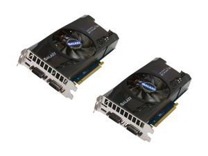 Galaxy GeForce GTX 460 (Fermi) SLI Kit 60XGH6HS3IMZ Video Card