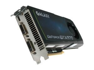 Galaxy GeForce GTX 570 (Fermi) 57NKH3HS00GZ Video Card