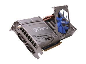 Galaxy GeForce GTX 570 (Fermi) 57NKH3HS4GXK Video Card