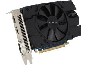 SAPPHIRE Radeon HD 7770 DirectX 11 11201-17CPO 1GB 128-Bit GDDR5 PCI Express 3.0 CrossFireX Support Video Card