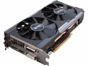 SAPPHIRE NITRO Radeon R9 380 DirectX 12 100384NT4GOC-2L 4GB 256-Bit GDDR5 PCI Express 3.0 x16 HDCP Ready Dual-X OC Version w/ backplate (UEFI) Video Card