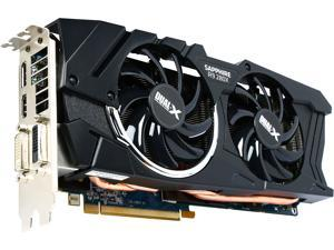 SAPPHIRE DUAL-X Radeon R9 280X DirectX 11.2 100363BF4L 3GB 384-Bit GDDR5 PCI Express 3.0 CrossFireX Support OC Video Card (UEFI) - Certified Refurbished
