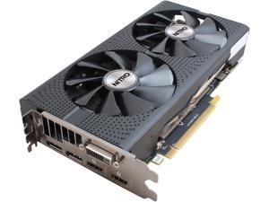 SAPPHIRE NITRO Radeon RX 480 DirectX 12 100406NT4GOCL 4GB 256-Bit GDDR5 PCI Express 3.0 CrossFireX Support Video Card