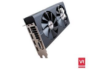 SAPPHIRE NITRO Radeon RX 480 DirectX 12 100406NT8GOCL 8GB 256-Bit GDDR5 PCI Express 3.0 CrossFireX Support Video Cards