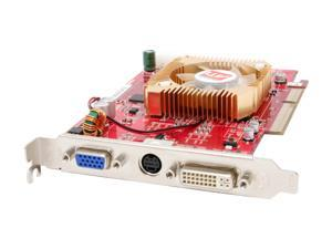GECUBE Radeon X1300 DirectX 9 GC-RX1300GA2-E3 512MB 128-Bit GDDR2 AGP 8X (AGP 3.0 slot only) Video Card
