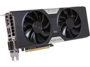 EVGA 03G-P4-2884-KR G-SYNC Support GeForce GTX 780 Ti Superclocked 3GB 384-Bit GDDR5 PCI Express 3.0 SLI Support w/EVGA ACX Cooler Video Card