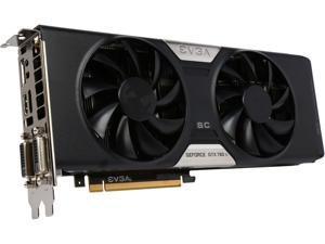EVGA GeForce GTX 780 Ti Superclocked DirectX 12 (feature level 11_0) 03G-P4-2884-RX 3GB 384-Bit GDDR5 PCI Express 3.0 SLI Support w/EVGA ACX Cooler Video Card