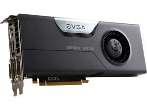 EVGA SuperClocked GeForce GTX 780 DirectX 11.1 03G-P4-2785-RX 3GB 384-Bit GDDR5 PCI Express 3.0 SLI Support Video Card