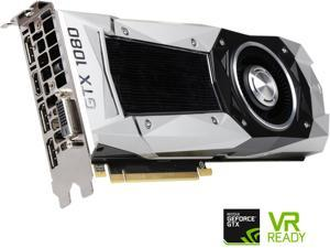 EVGA GeForce GTX 1080 Founders Edition, 08G-P4-6180-KR, 8GB GDDR5X, LED, DX12 OSD Support (PXOC)