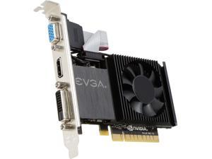 EVGA GT 710 1GB DDR3 64-bit Single Slot, (Optional) Low Profile 01G-P3-2711-RX