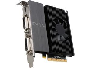EVGA GT 710 2GB DDR3 64-bit Single Slot, Dual DVI 02G-P3-2717-RX