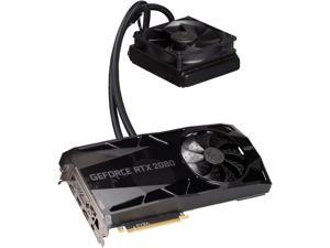 EVGA GeForce RTX 2080 SUPER FTW3 HYBRID GAMING Video Card, 08G-P4-3288-KR, 8GB GDDR6, RGB LED Logo, iCX2 Technology, Metal Backplate