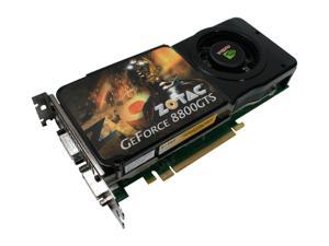ZOTAC GeForce 8800GTS (G92) ZT-88SES2P-FSP Video Card