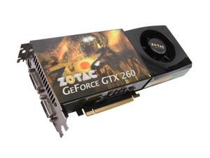 ZOTAC GeForce GTX 260 ZT-X26E3KA-FSP Video Card