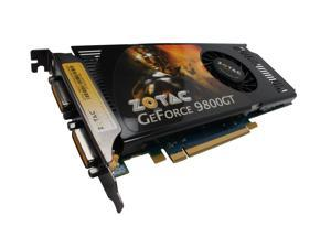 ZOTAC GeForce 9800 GT ZT-98GES3P-FSR Video Card