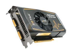 ZOTAC GTS GeForce GTS 450 (Fermi) DirectX 11 ZT-40501-10L 1GB 128-Bit GDDR5 PCI Express 2.0 x16 HDCP Ready SLI Support Video Card