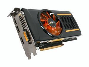 ZOTAC GTX GeForce GTX 460 (Fermi) DirectX 11 ZT-40407-10P 1GB 256-Bit GDDR5 PCI Express 2.0 x16 HDCP Ready SLI Support Video Card