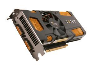 ZOTAC AMP! GeForce GTX 560 Ti (Fermi) ZT-50302-10M Video Card