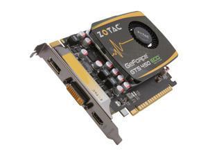 ZOTAC GeForce GTS 450 (Fermi) DirectX 11 ZT-40508-10L 1GB 128-Bit DDR3 PCI Express 2.0 x16 HDCP Ready SLI Support Video Card