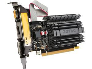 ZOTAC GeForce GT 730 DirectX 12 (feature level 11_0) ZT-71113-20L 2GB 64-Bit DDR3 PCI Express 2.0 x16 (x8 lanes) HDCP Ready Zone Edition Video Card