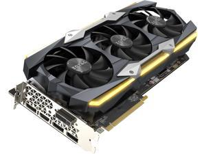 ZOTAC GeForce GTX 1080 Ti AMP Extreme Core 11GB GDDR5X 352-bit Gaming Graphics Card VR Ready 16+2 Power Phase Freeze Fan Stop IceStorm Cooling Spectra Lighting ZT-P10810F-10P