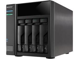 "ASUSTOR AS6004U NAS Storage Capacity Expander - 4 x Total Bays - Serial ATA/600 - RAID Supported 0, 1, 5, 6, 10, JBOD - 4 x 2.5""/3.5"" Bay - Desktop"