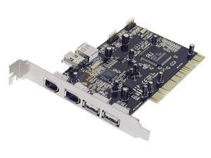 Koutech PCI to USB/1394a Card Model IO-PFU331