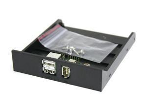 Koutech KW-F7771-B FireWire 1394a + USB 2.0 Combo Internal Front Bay Connector Module