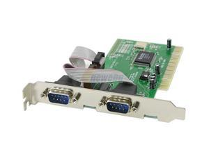 Link Depot PCI to Serial 2-Port Controller Card based on NM9835CV Model PCI-SER2H