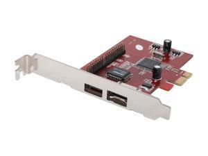 KINGWIN PCI Express eSATA/PATA Host Card Model U2PCI-2