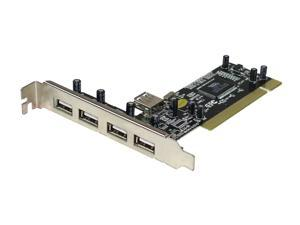 SABRENT 5 Ports USB 2.0 PCI Card Model SBT-ALI5Y