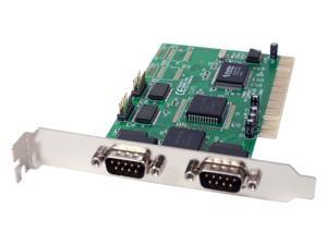 SYBA PCI to Serial 4-port Host Controller Card Model SD-PCI-4S