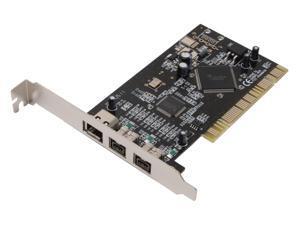 SYBA PCI 32-bit Firewire 1394b Controller Card Model SD-FWB-32B