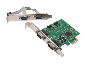 SYBA PCI-Express 4 Port Serial Card Model SY-PEX-4S