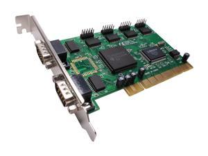 SYBA PCI 6 port Serial Card w/ Moschip MCS9845CV Model SY-PCI15001