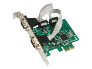 SYBA 2 x Serial Ports PCI-Express Card Model SY-PEX-2S
