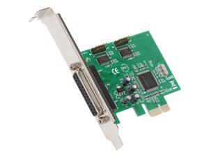 SYBA Serial/Parallel Combo (2S+1P) PCI-Express Card - MCS9901CV Chipset Model SY-PEX-2S1P