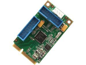 SYBA Mini PCI-Express USB 3.0 Host Controller Card Model SD-MPE20215