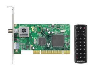 Pinnacle 7-85428-22238-7 PCTV HD Card NTSC/ATSC/ClearQAM/FM TV Tuner PCI w/ Mini Remote