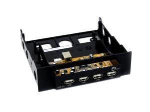 SIIG JU-H42B22-S2 4-Port USB2.0 Front Panel Hub