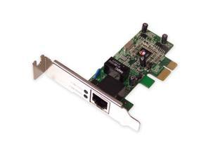 SIIG Single Port Gigabit Ethernet PCIe adapter Model CN-GP1021-S1