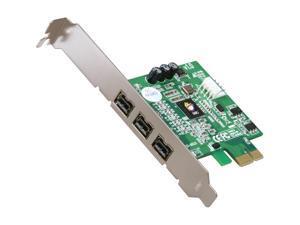 SIIG 3 Ports FireWire 800 PCIe Card Model NN-FW0012-S1