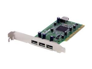 Adaptec High-speed 4-port USB 2.0 Add-On Card Model USB2connect 3100LP